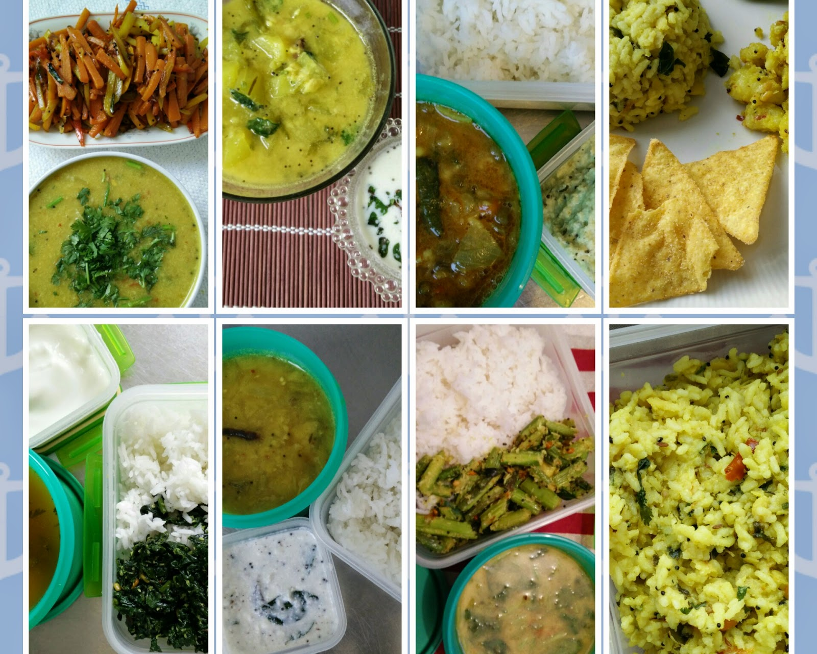 9 Different Lunch Box Ideas With Easy South Indian Dishes