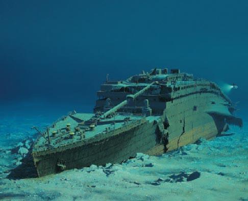 Photos on Die K  Nstlich Geschaffene Titanic Wurde Von Einem Nat  Rlichem Objekt