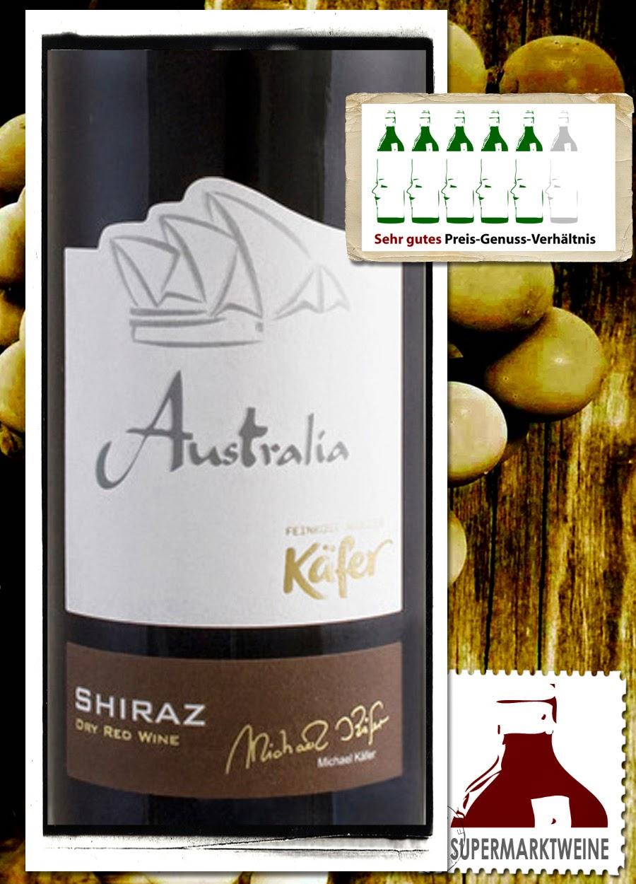 Käfer Shiraz Australien 2013 | Test und Bewertung