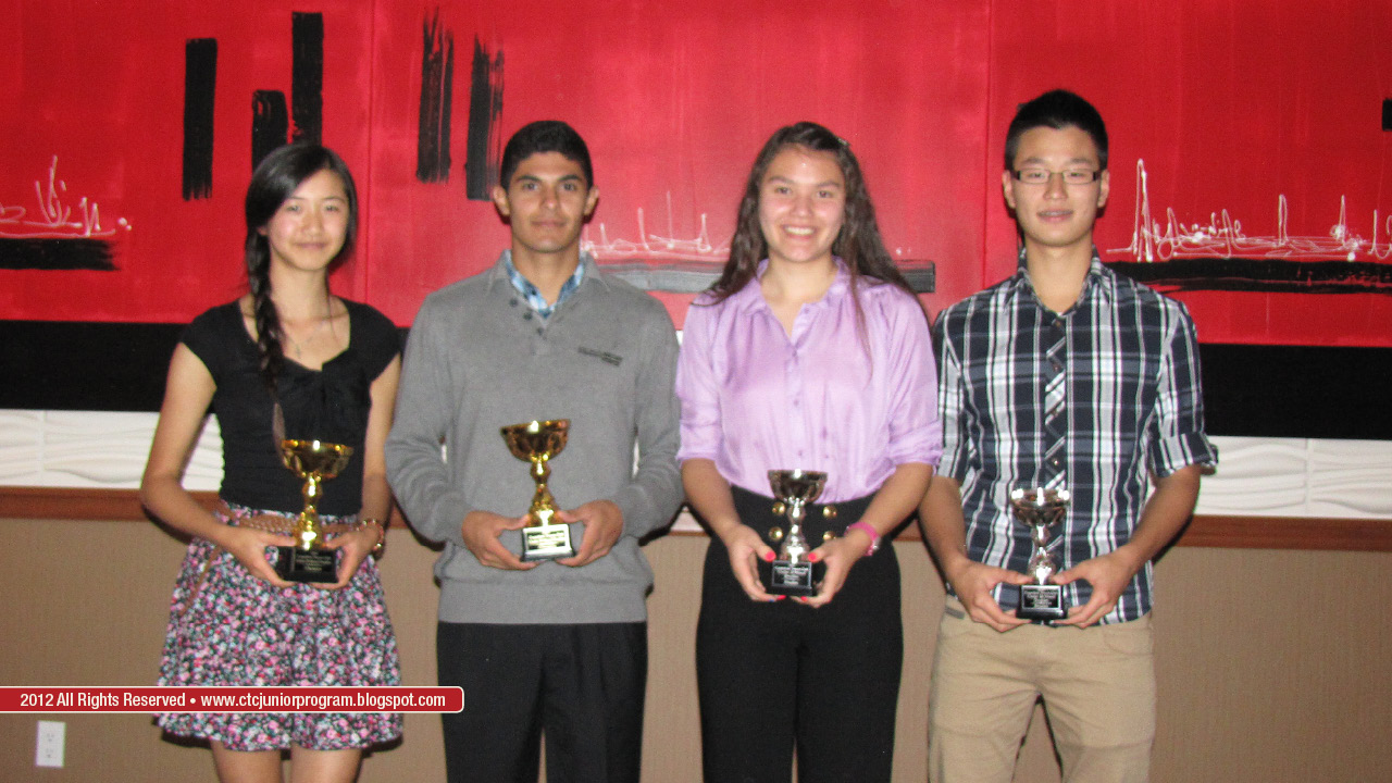 U18 Club Mixed Doubles Champion: Winnie Zhuang and Jedi Tetik