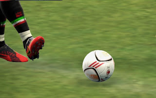 AC Milan Official Ball PES 2013 by Ankurniawan