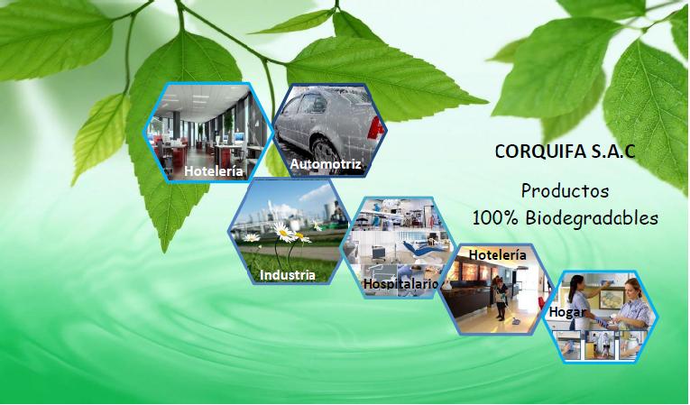 CORQUIFA / Expertos en Productos de Limpieza en General