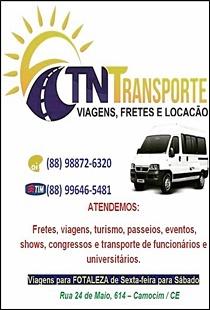 TN TRANSPORTES - VIAGENS, FRETES E LOCAÇÕES