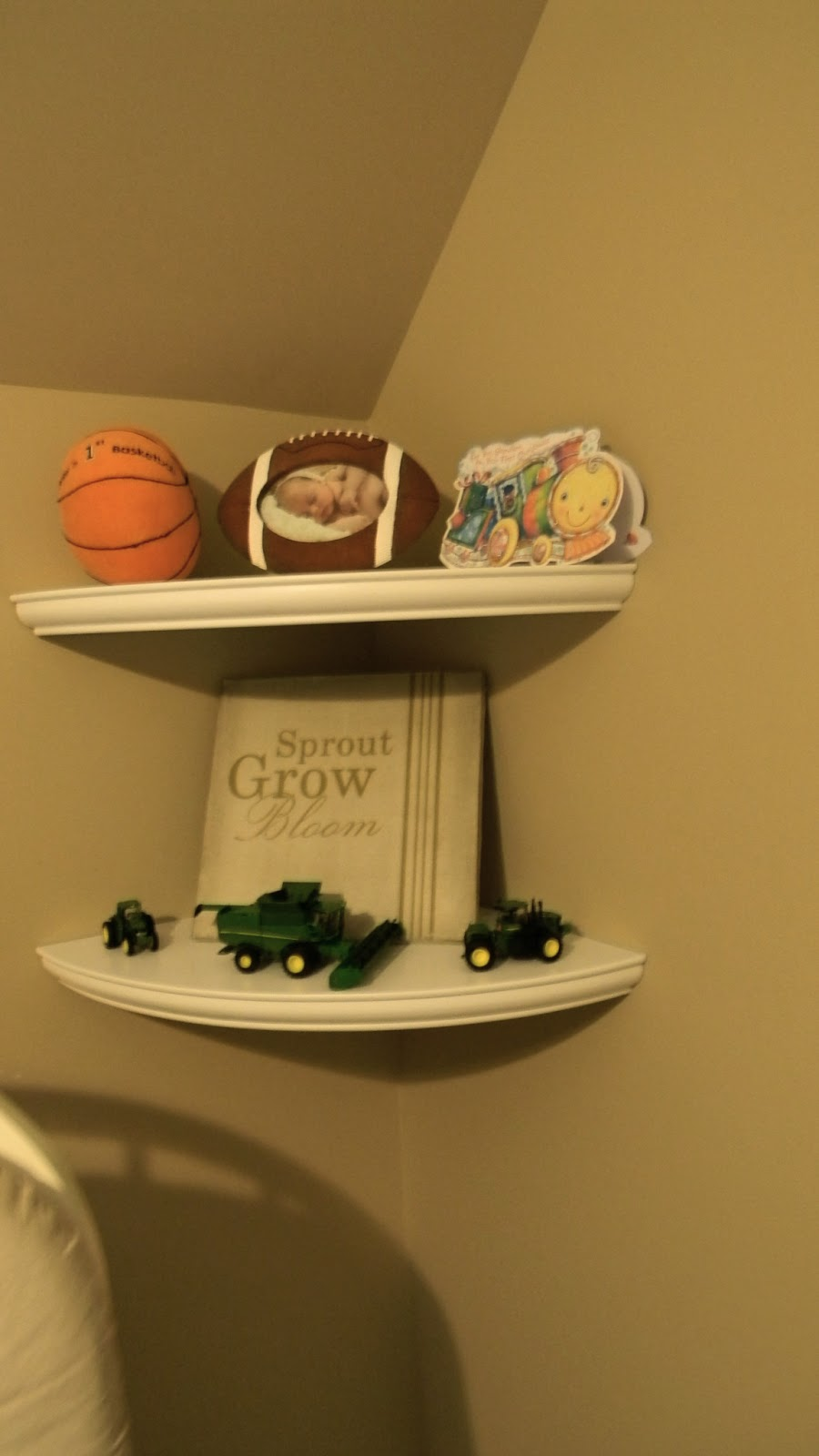 Forever Decorating Sports Theme Nursery