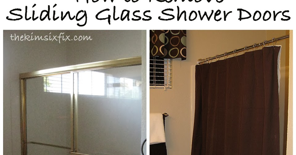Removing Sliding Glass Shower Doors Flashback Friday The Kim Six