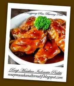 Cara Mengolah Ayam Panggang Saus Bawang Putih