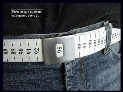 cinto con centimetros