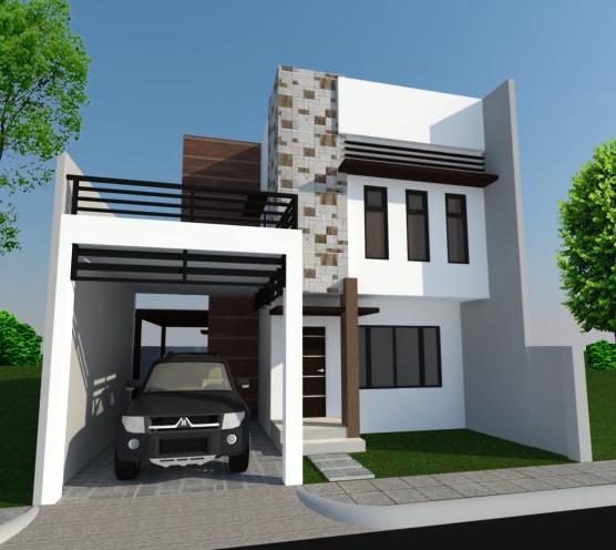 Modern house zen type