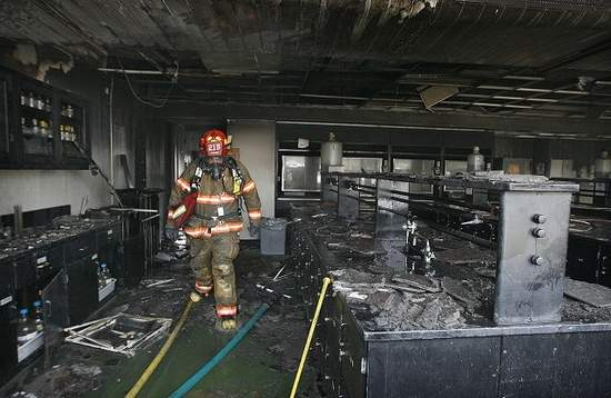 School Safety - Art, Lab, Science, & Tech Ed: Fire in ...