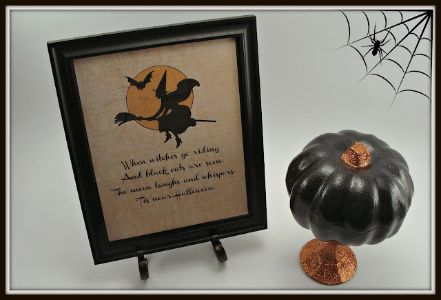 Halloween, Witch, Vintage, Printable
