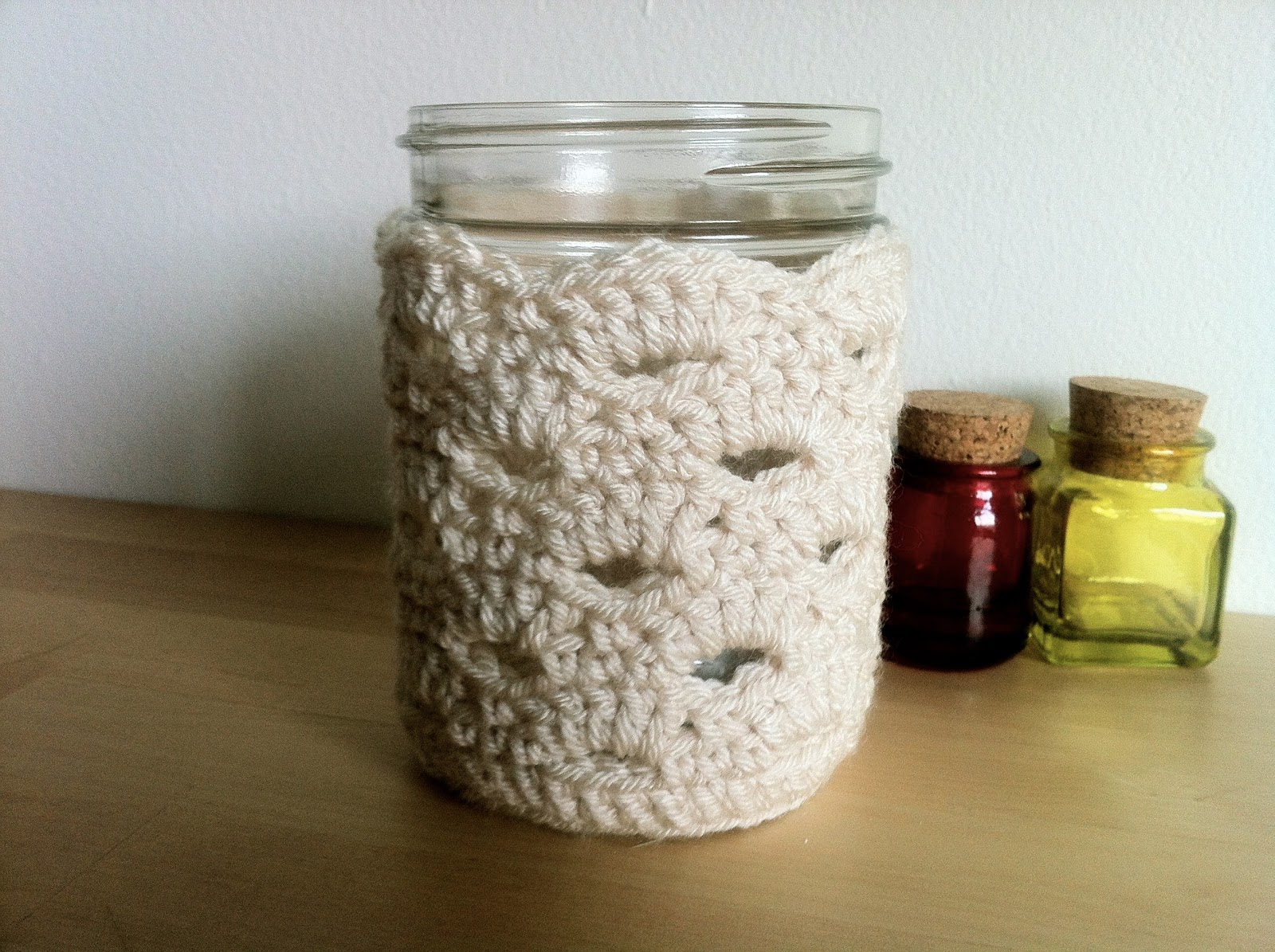 The Way I Crochet: Crochet Jar Cozy