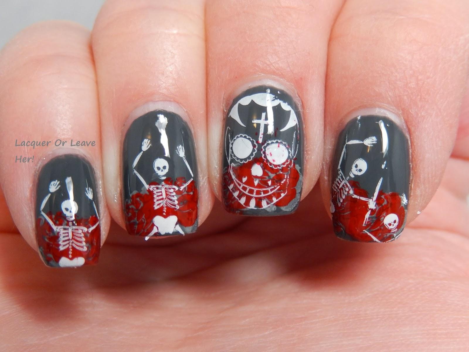 Famous Dia De Los Muertos Nails Collection - Nail Art Ideas ...