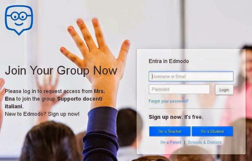 Edmodo: gruppo di supporto per docenti italiani