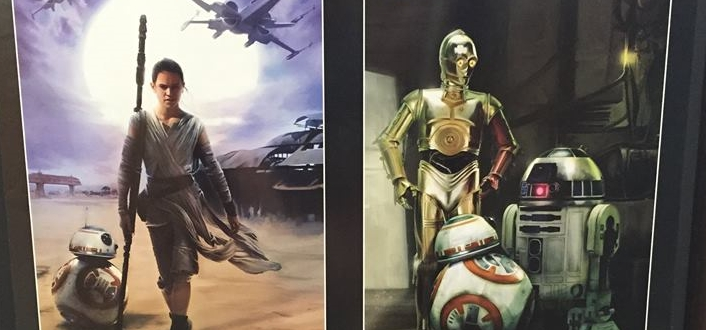 report: 'the force awakens' posters spotted   the star wars underworld