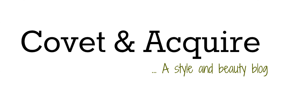 Covet and Acquire | A Vancouver fashion and beauty blog by Aleesha Harris