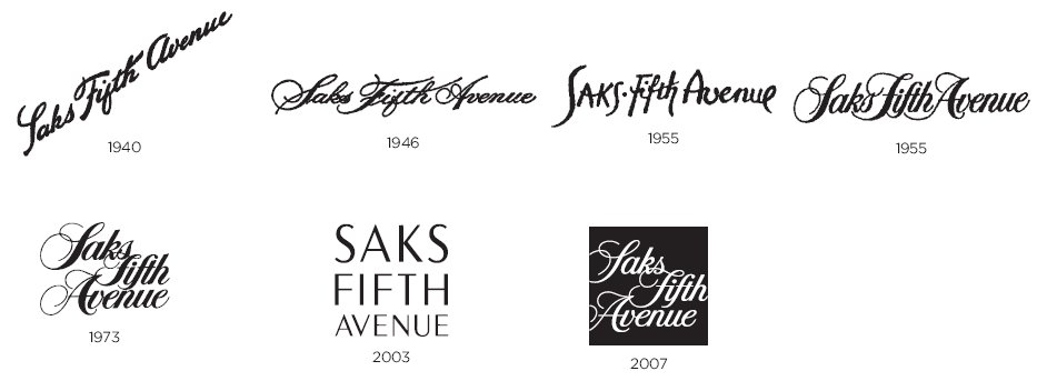 History Of All Logos Saks Fifth Avenue Logo History