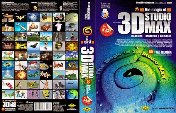 Buku desain, buku desain grafis, buku 3D desain, buku 3Ds Max, tutorial 3D desain, graphic design book