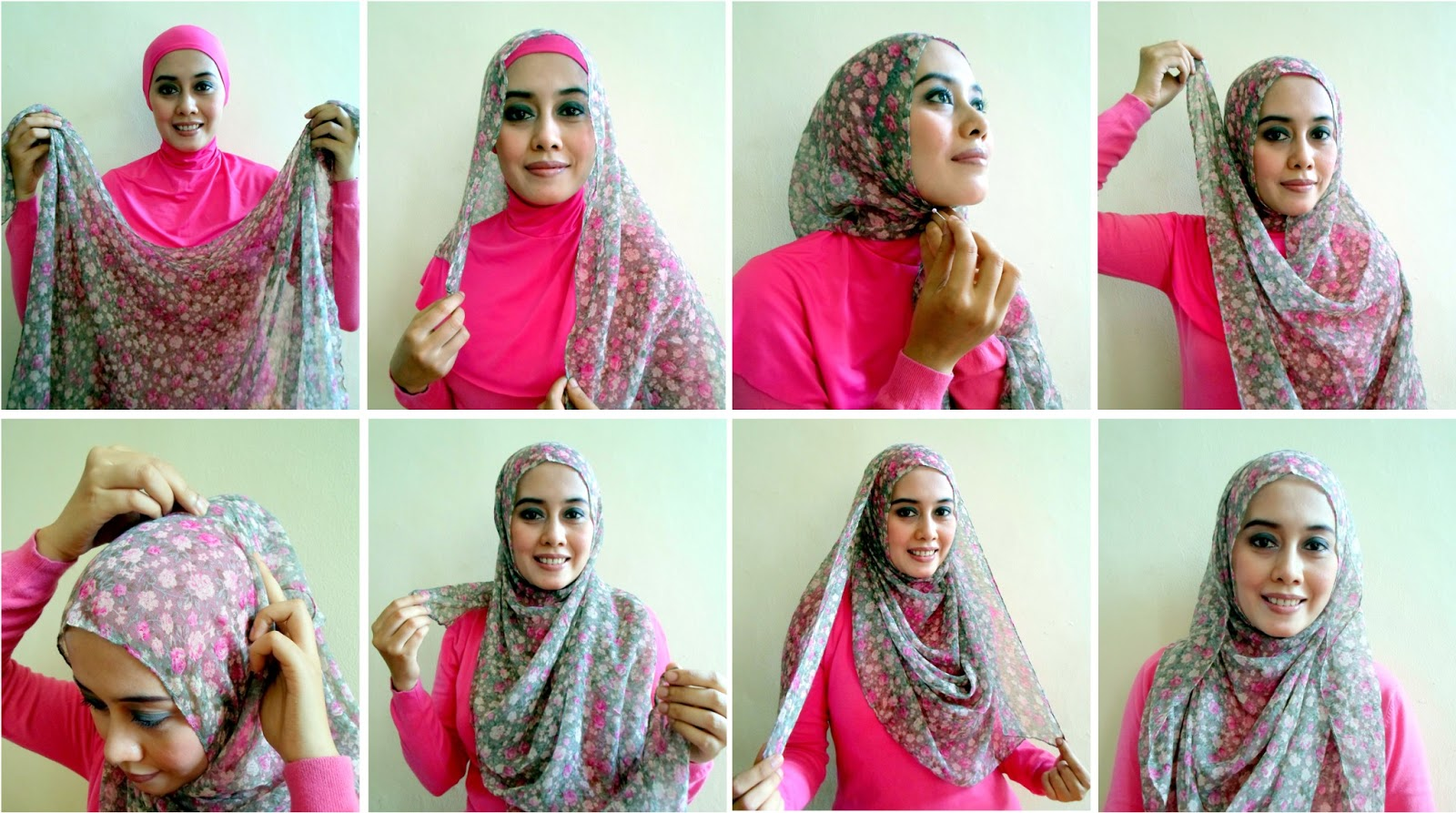15 Tutorial Hijab Paris April Jasmin Tutorial Hijab Terbaru