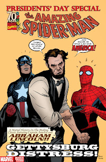 Abraham Lincoln Amazing Spiderman