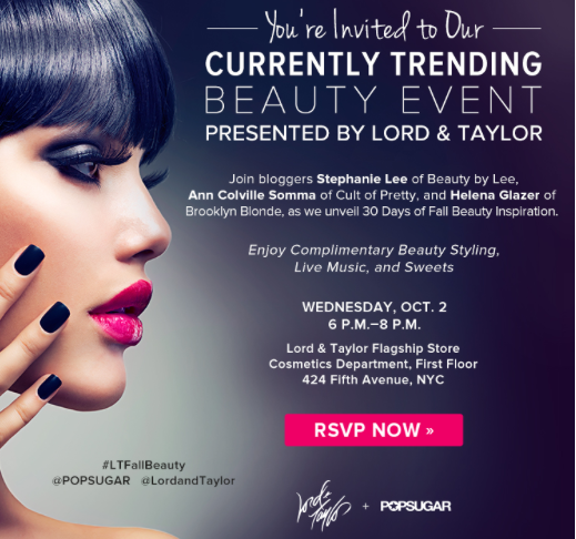 Burberry & Teen Vogue Exclusive Beauty Event! | Art of Moda