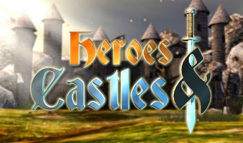Download Game Android Phone Heroes and Castles MOD APK+DATA Android (Unlimited Gems/Heroes Unlocked)