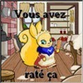 vous avez rat a