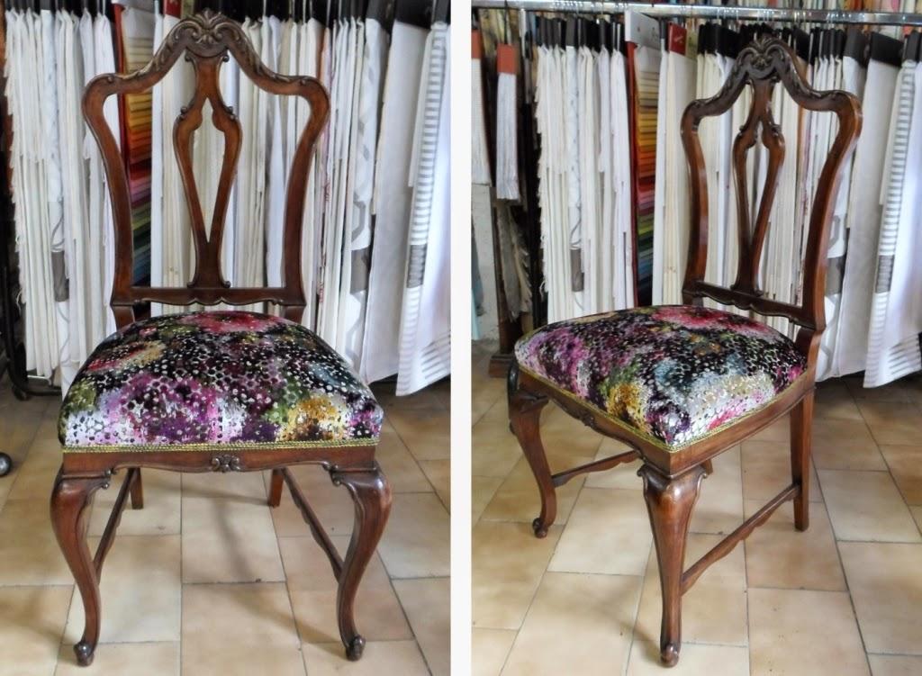 Tapizado de sillas de muelles