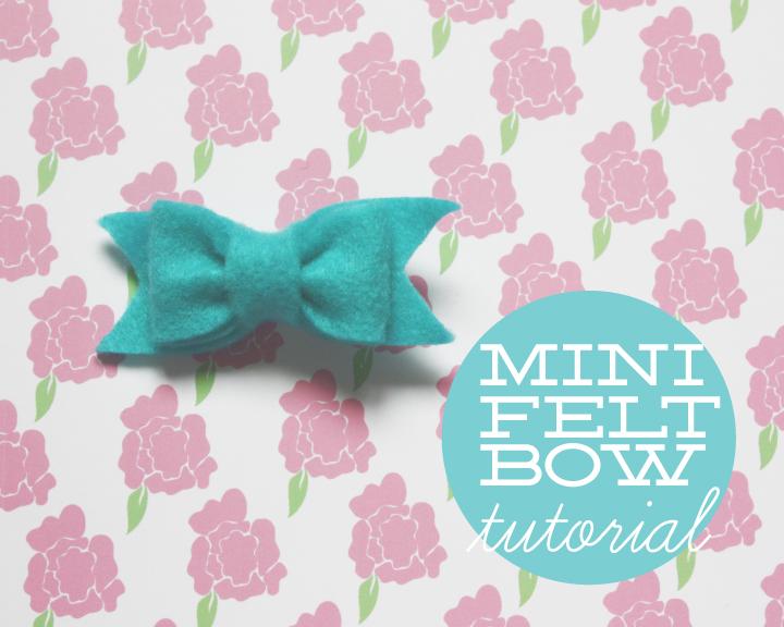 Felt bow tutorial images felt bow tutorial mini felt bow tutorial pronofoot35fo Image collections