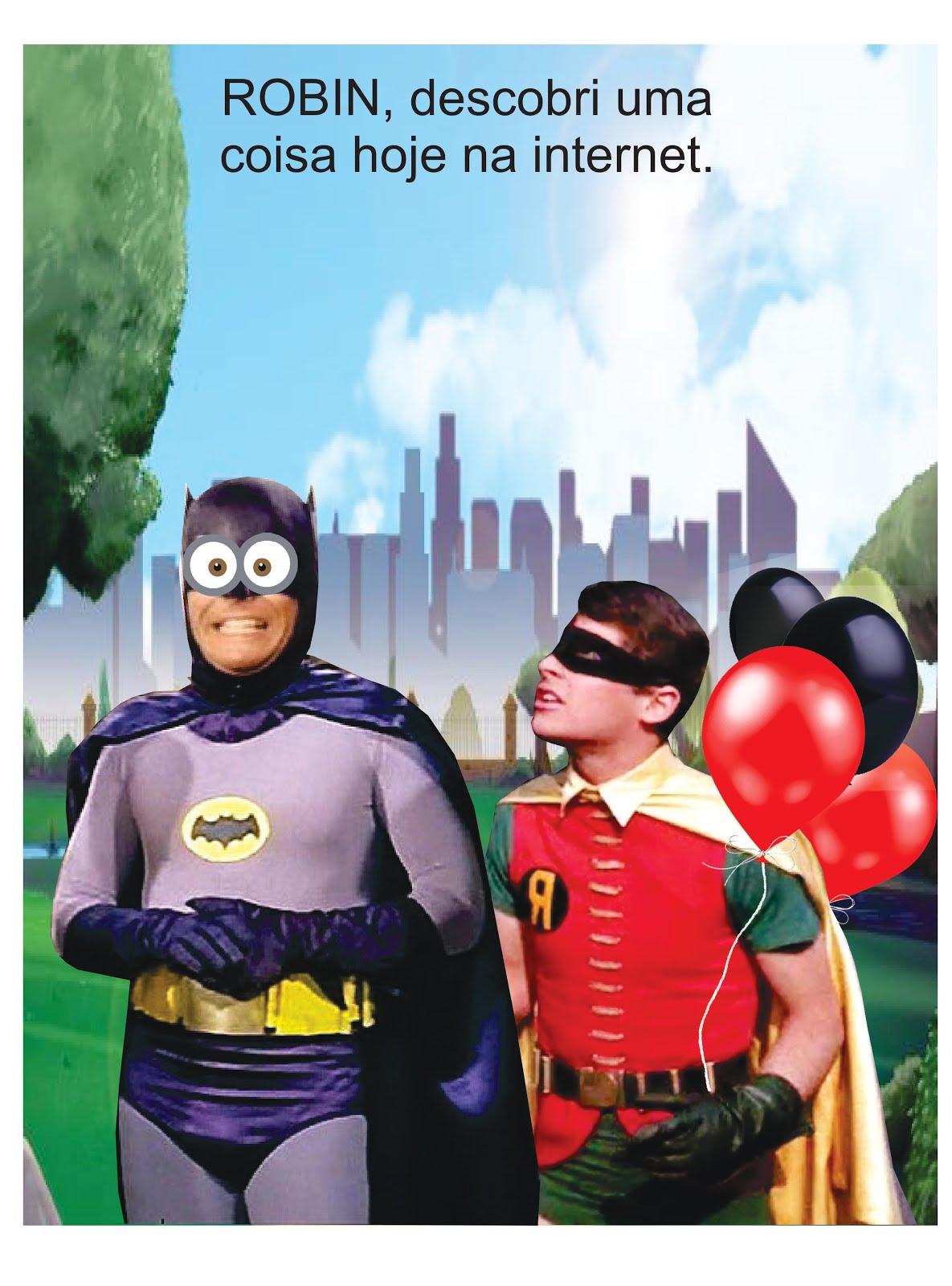 Batman e Robin na Terra Plana