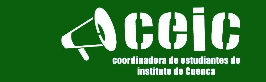 COORDINADORA de ESTUDIANTES de INSTITUTO de CUENCA C.E.I.C.