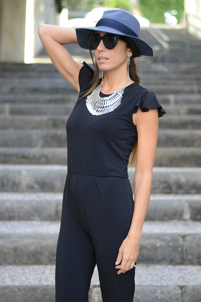 cappello blu accessorize