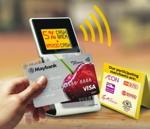 Maybank Visa Platinum Debit Card