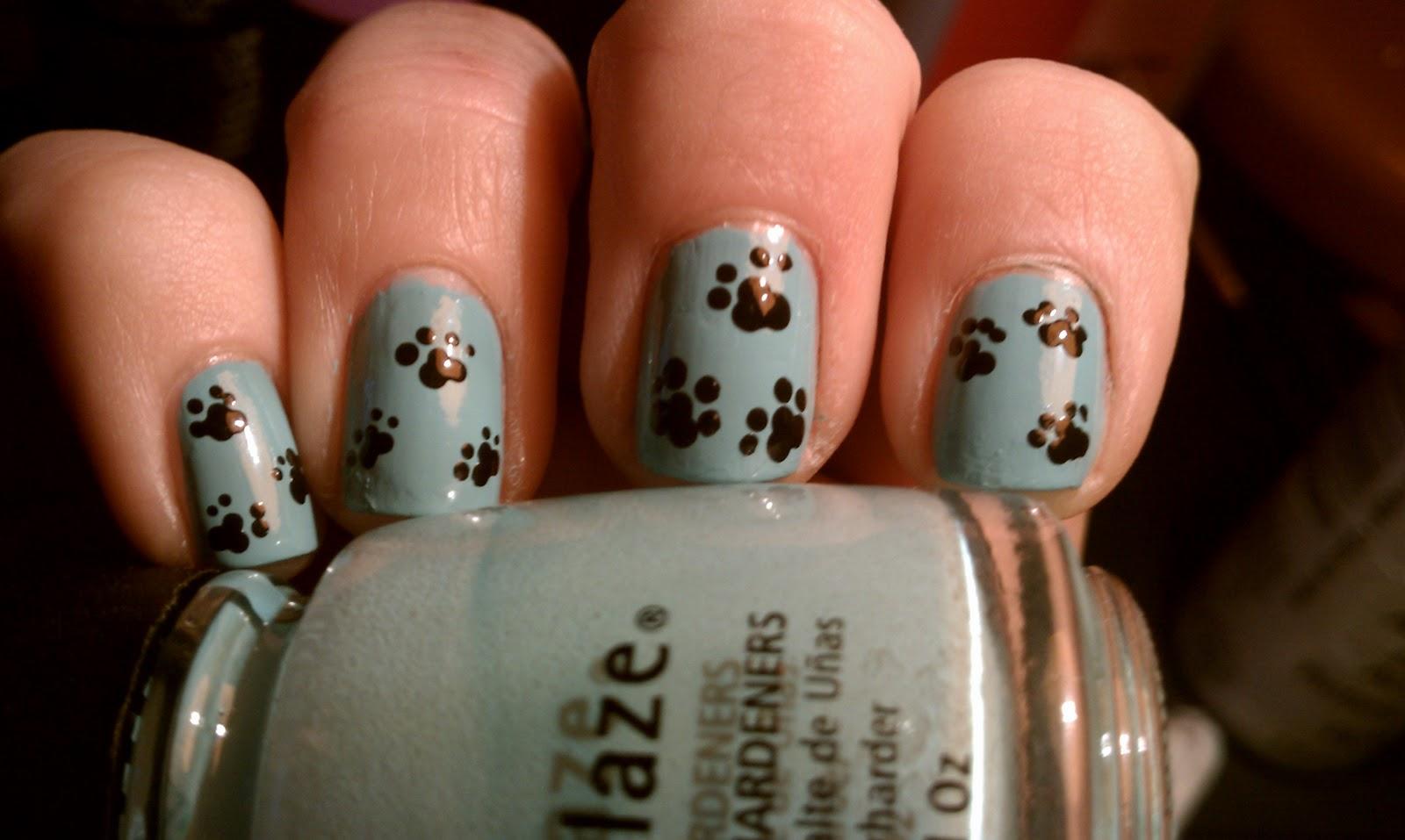 Procrastination Polish Dog Paw Prints