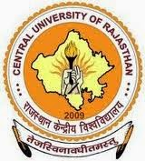 Central University of Rajasthan Recruitment Notification 2014