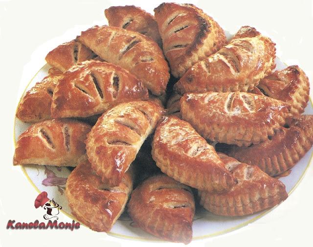 Empanadillas de Hojaldre con Manzana