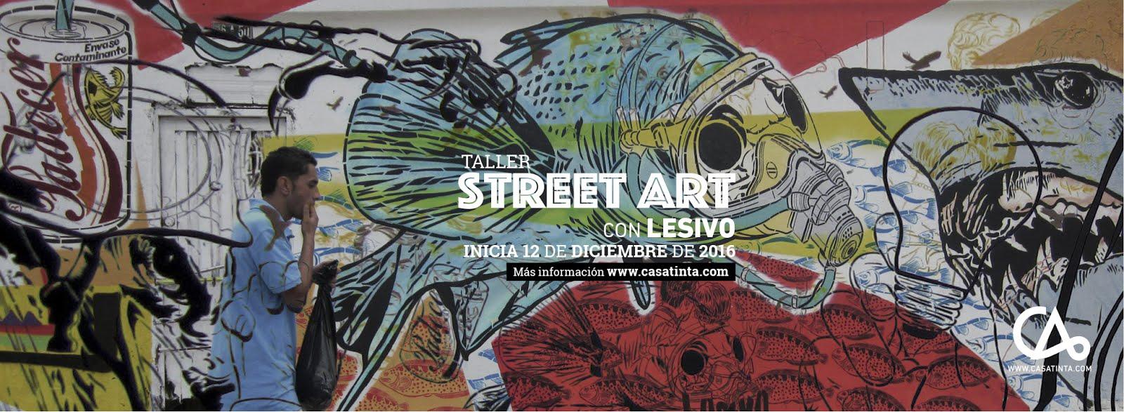 STENCIL Y STREET ART / 12 dic