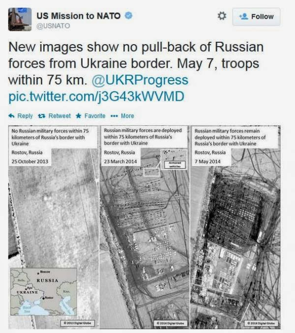 No Russian Troop Withdrawals Shows Latest Satellite Images.