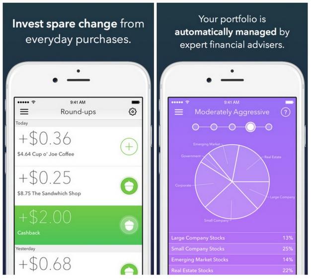 12 Aplikasi iPhone terbaik 2014, Acorns
