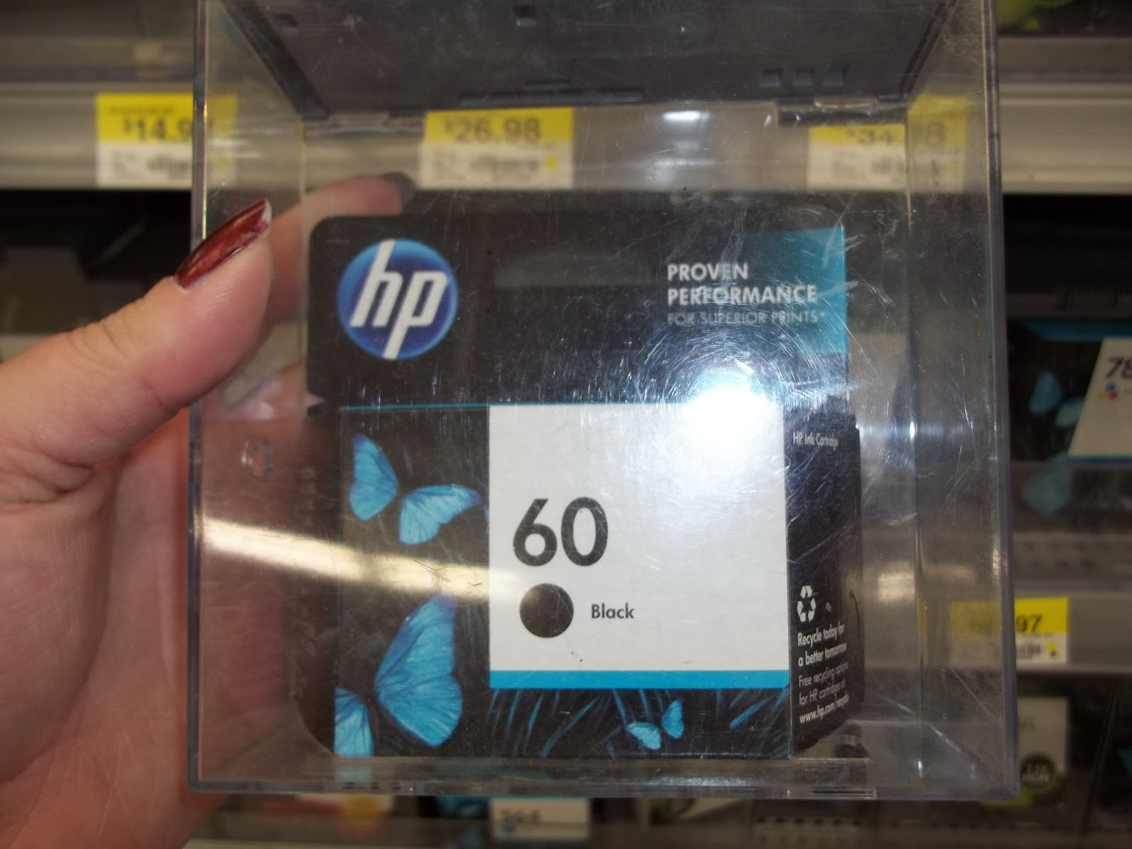 SARAHS BLOG OF FUN HP Ink At Walmart Review And Giveaway