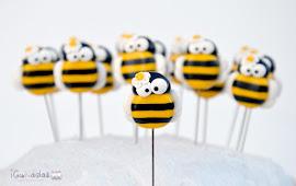 Alfileres abejas