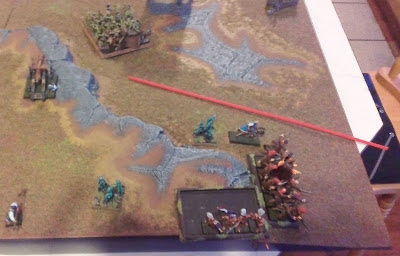 Warhammer Fantasy battle report: Vampire Counts vs Empire.