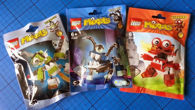 What's New in LEGO for April LEGO Mixels series 4