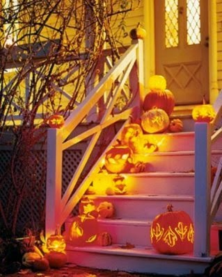 home decoration on halloween day
