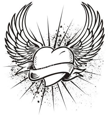 Эскизы татуировки сердца
