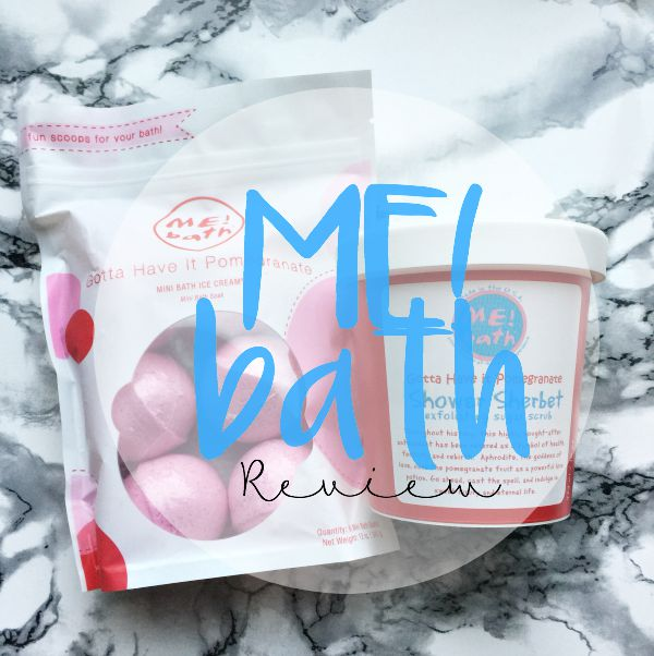 Me! Bath Ice Cream & Shower Sherbert Review