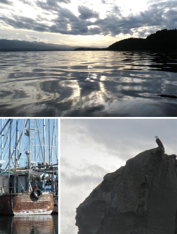 Denman Island boat trip