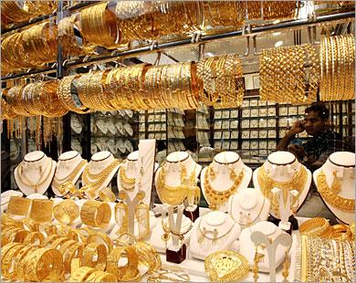 ارتفاعات قياسيه في اسعار الذهب في مصر بزيادة 9 جنيه لعيار الذهب