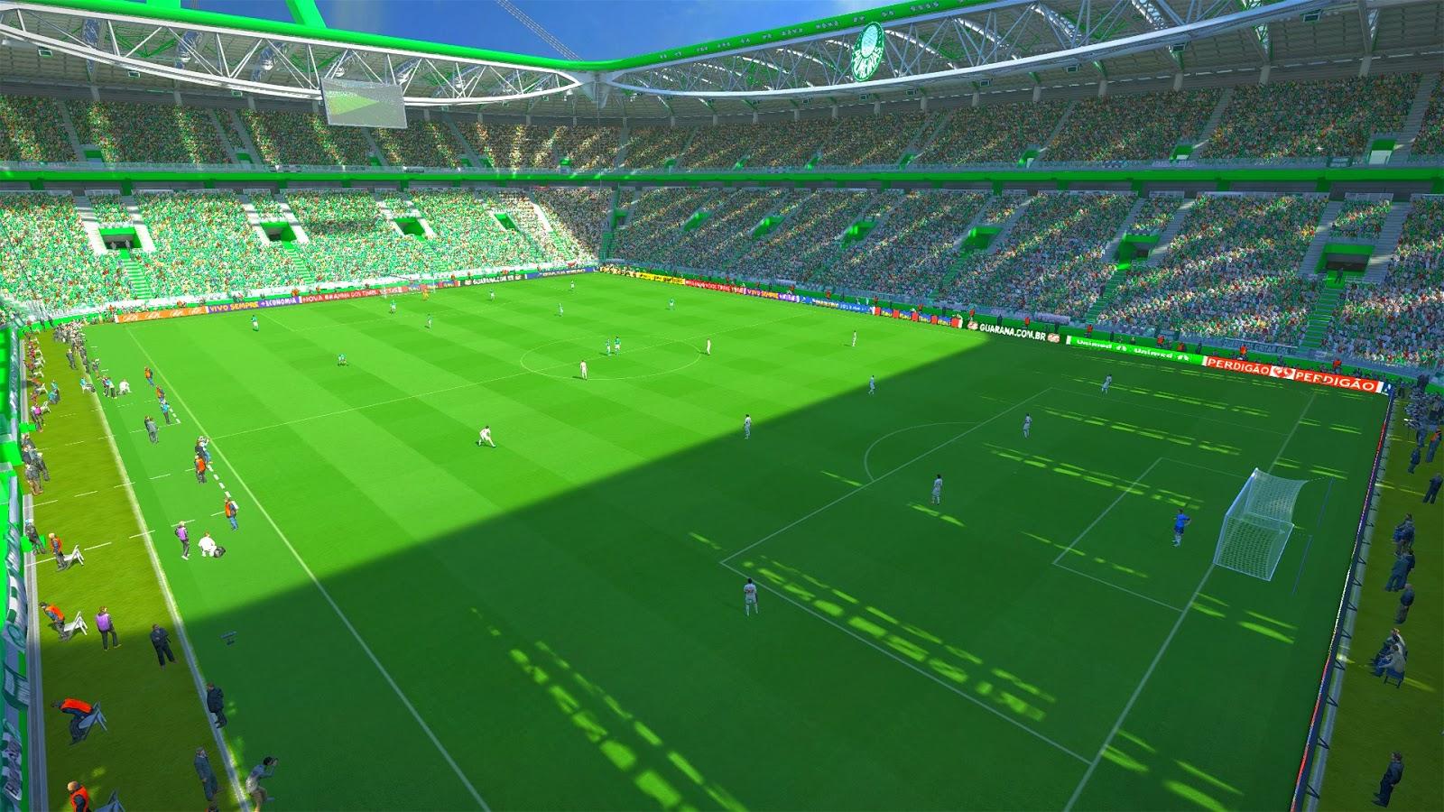 ... para PES 2014: Estádio Allianz Parque | Palmeiras | [PES 2014