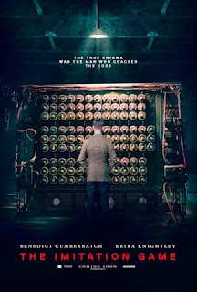 Portada película The Imitation Game 2014 Benedict Cumberbatch Alan Turing fotogramailustrado