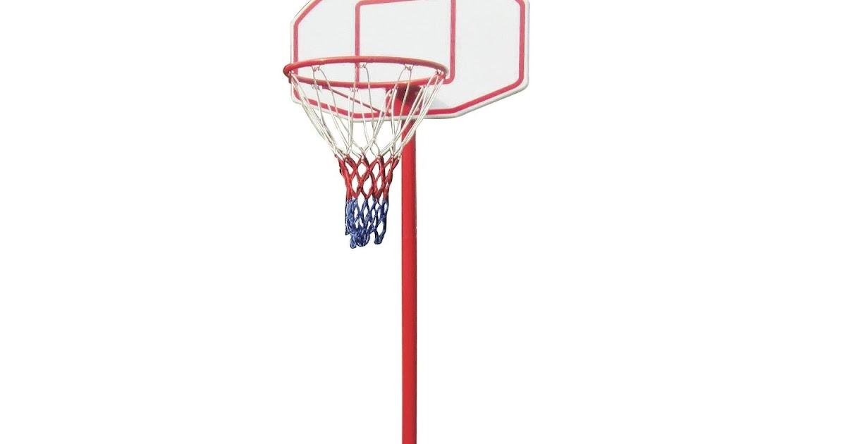 h henverstellbarer basketballkorb mit st nder. Black Bedroom Furniture Sets. Home Design Ideas